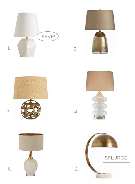 On The Hunt: Table Lamps | Sacramento Street