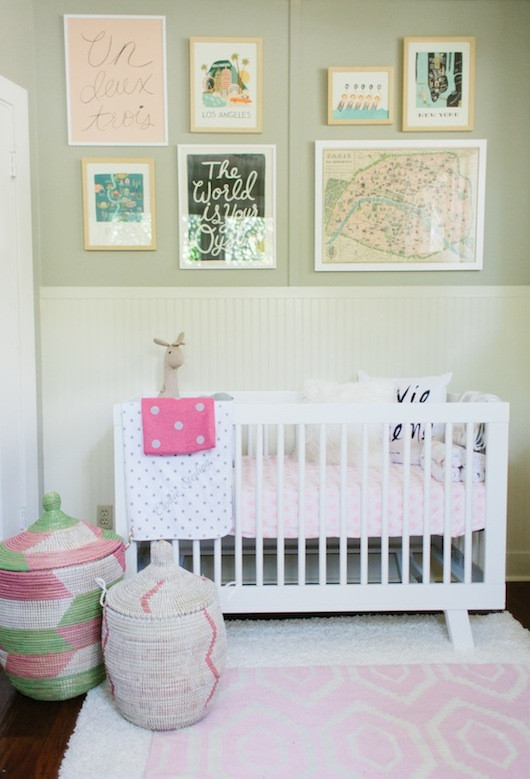 Taylor Sterling Nursery | Design by Caitlin Flemming | Photo by Emily Scott