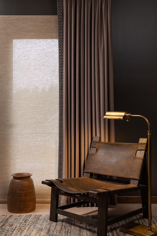 drapery designed by Gail Davis Designs