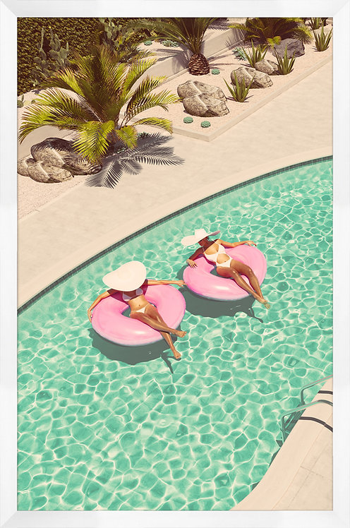 Pink Pool Floats