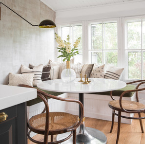 Layered, warm and sophisticated remodel by Toronto Interior Designer Ashley Montgomery