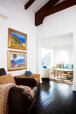 Mid-century beach home by Christopher Kennedy Interior Design