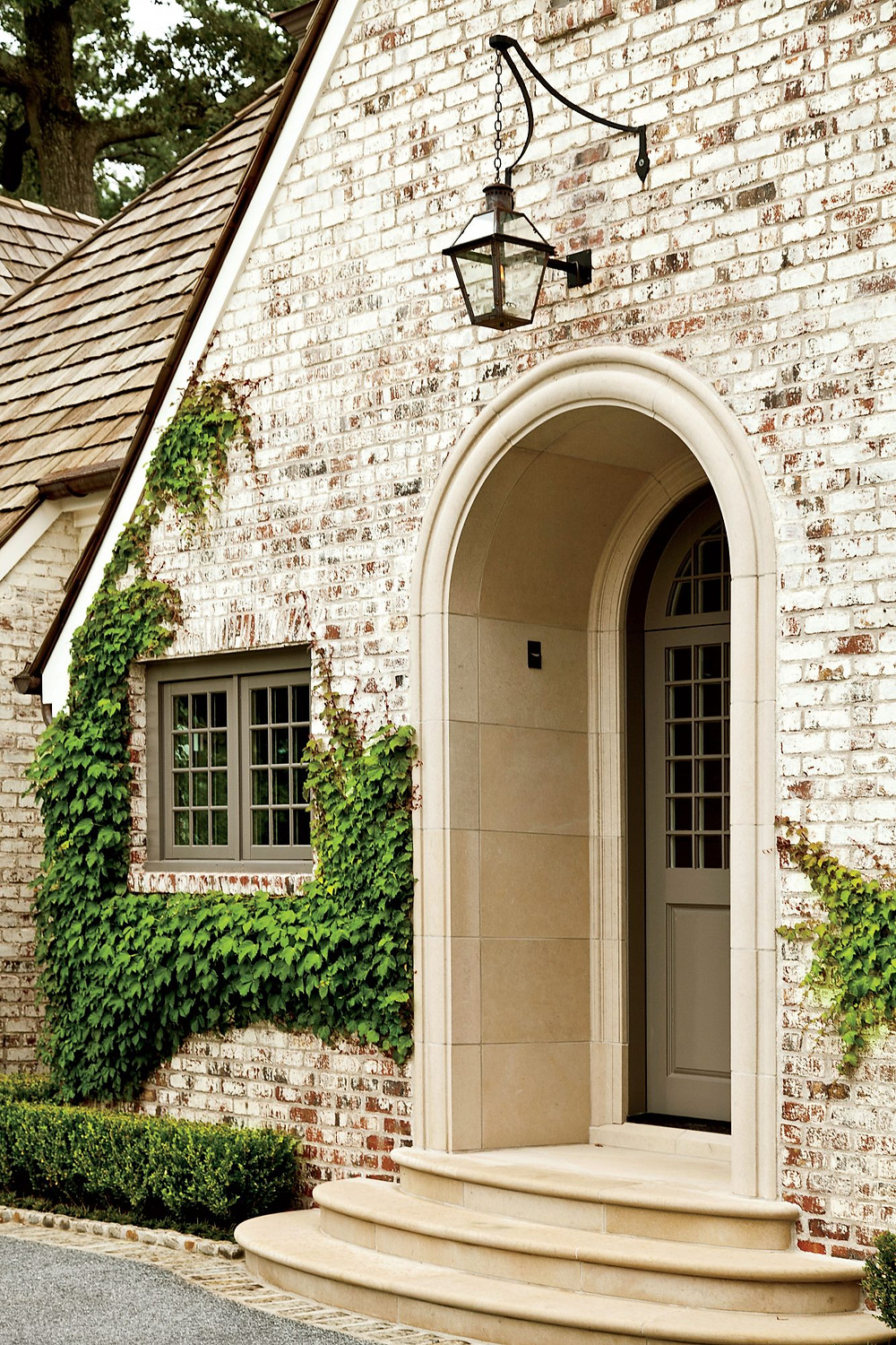 cottage with limewashed brick by Peter Block