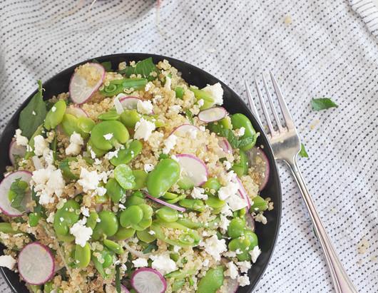 On the Menu: Spring Salad