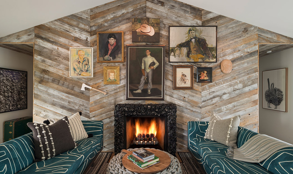 funky living room design