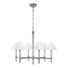 Transitional chrome chandelier.png