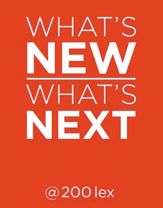 Rue Magazine at 'What's New What's Next @ 200 Lex!'