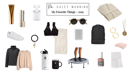 In lieu of a gift guide this year, I have rounded up items that I own and love from 2019 (you can definitely still use this as a gift...