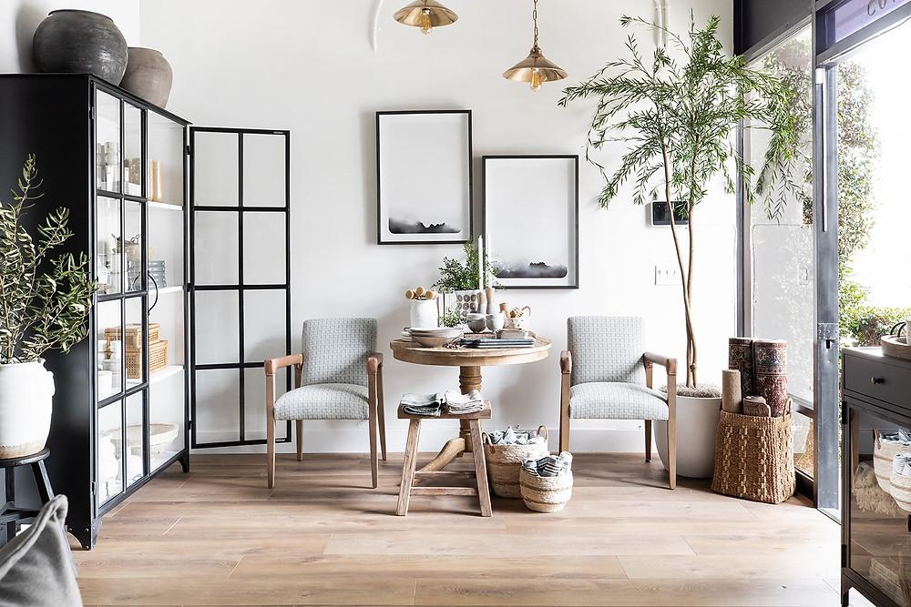 showroom at Lindsey Brooke Design