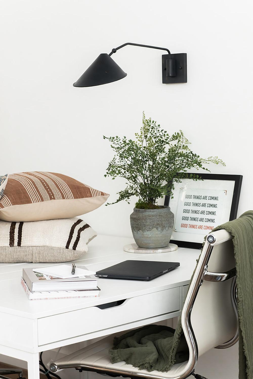 desk at Lindsey Brooke Design