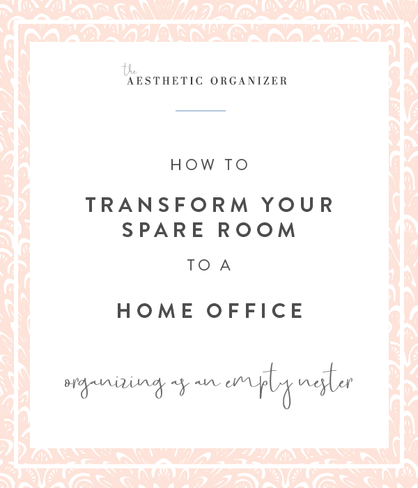 Transform Your Spare Room to a Home Office