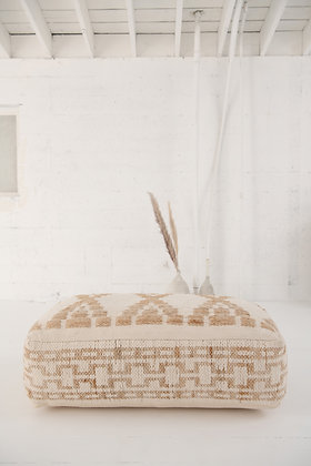 The Harlow Kilim Pouf