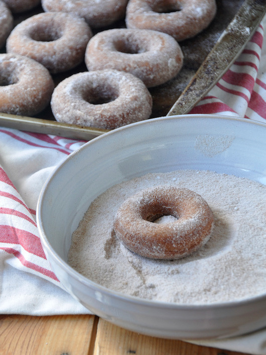 Apple Cider Donuts | Sacramento Street