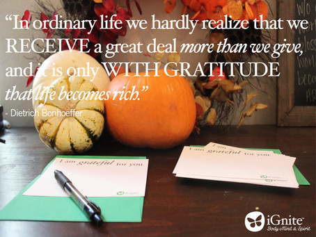 Why Gratitude is the Best (and Only) Option