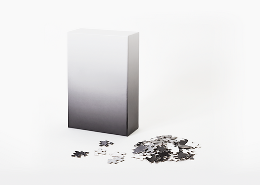 Gradient Puzzle, Black Puzzle