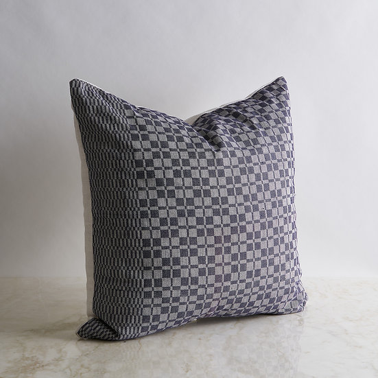 Vintage Patterned Linen Pillow Cover