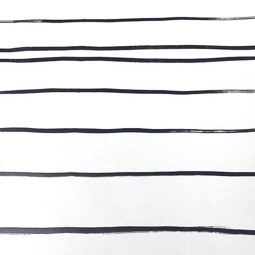 Thin Lines Wallpaper - Black