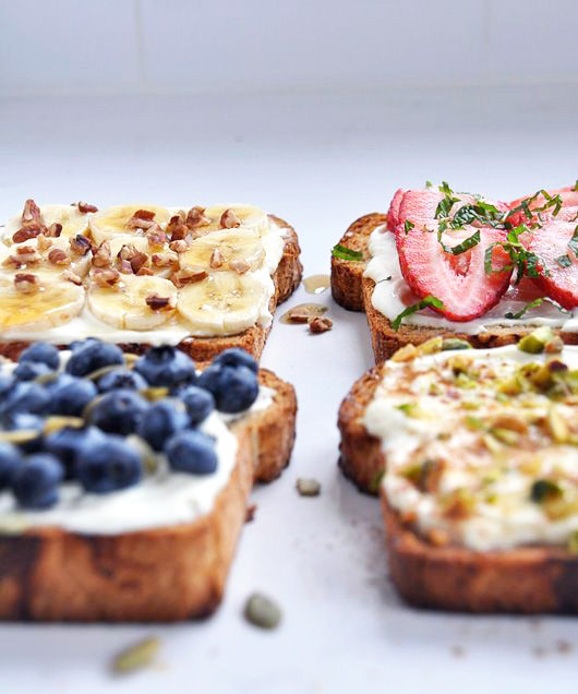Fancy Toast | Sacramento Street