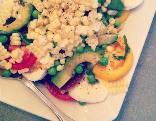 On the Menu: Summertime Caprese Salad