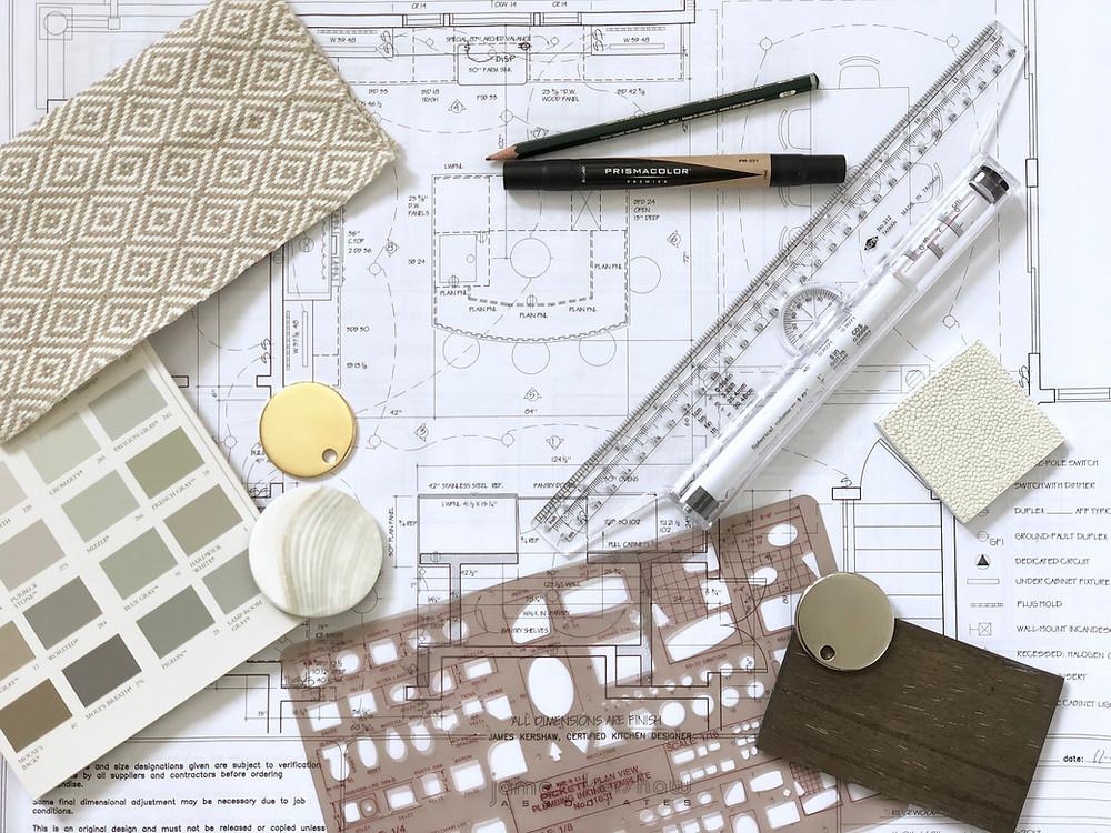 Britt Design studio floor plan
