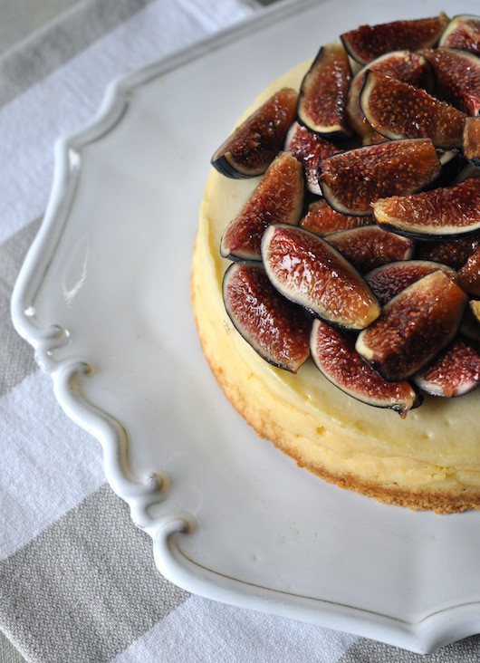 Fig Cheesecake | Recipe by Grant Gibson for Sacramento Street