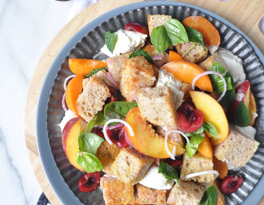 On the Menu: Summer Panzanella Salad