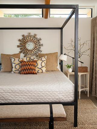 Modern, neutral mid-century design by Christopher Kennedy - Palm Springs Interior Design Studio