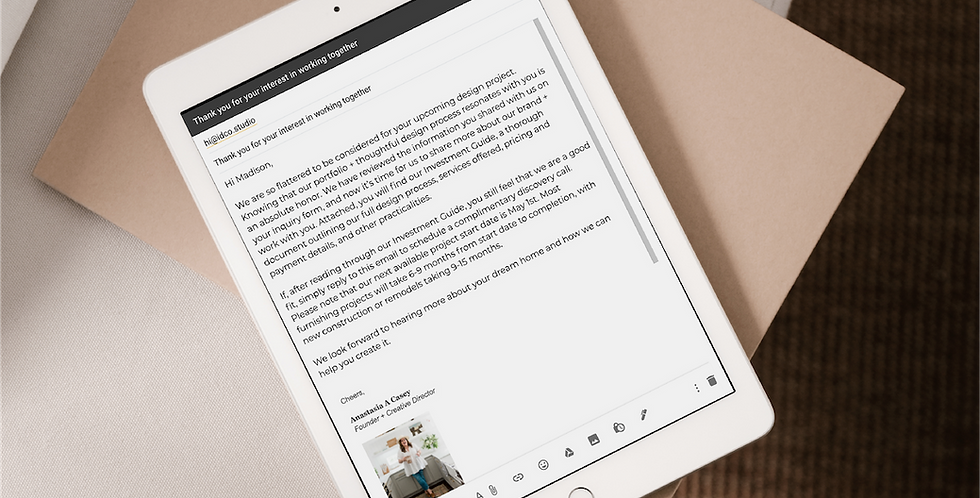 Client Email Templates