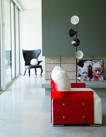 Vacation rental design by Palm Springs interior designer Christopher Kennedy