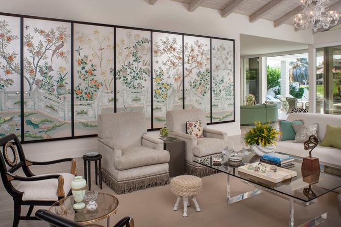 Mid-century glamor by Christopher Kennedy Interior Design