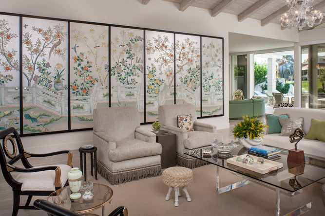 Mid-century glamor by Christopher Kennedy Interior Design