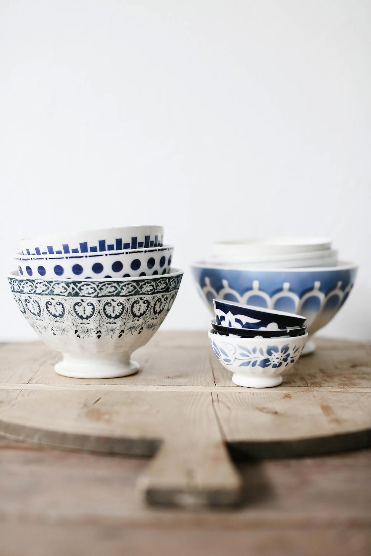 Café au lait bowls