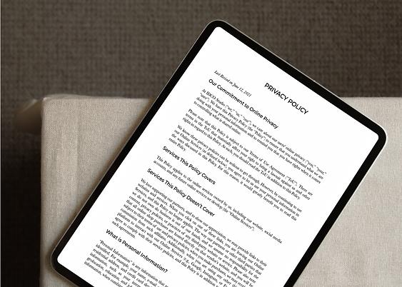 Interior Design Website Legality Bundle
