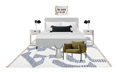This budget bedroom design comes in just under $2000. If you have an empty guest room or are ready for a room refresh, I've linked the look.