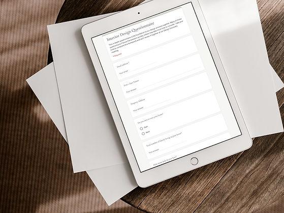 Client Design Questionnaire