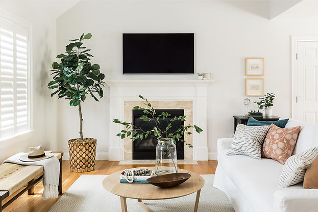 Let's talk about this beautiful home we recently finished on Cape Cod. The space started out the way many homes do—with new construction and