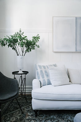 Interiors: Revitalizing Our Sofa with Perennials