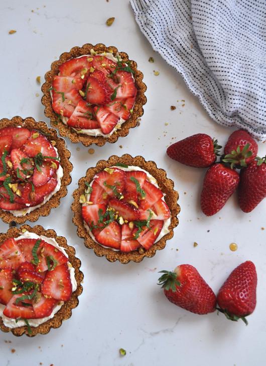 Mini Strawberry Tarts | Sacramento Street