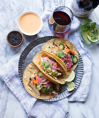 On the Menu: Korean Chicken Tacos