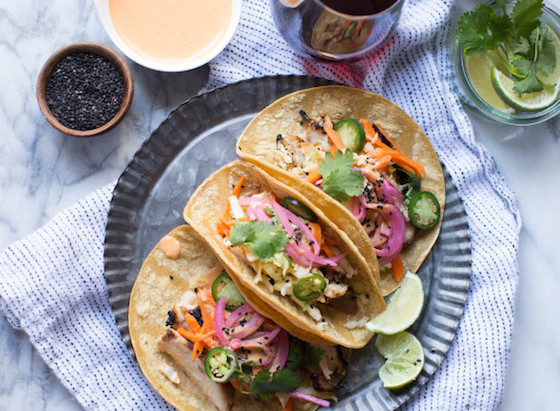 On the Menu: Korean Chicken Tacos