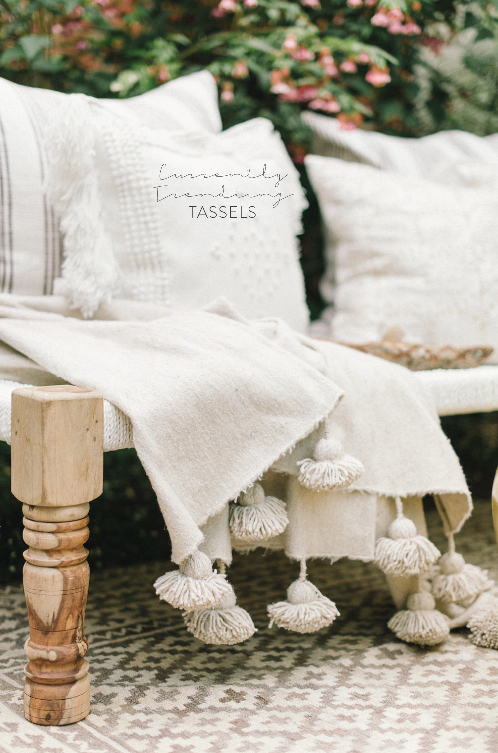 Currently Trending: Tassels