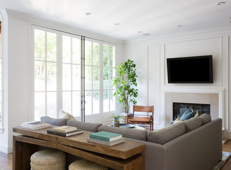 Palisades Project: Entry, Dining, Family Room + Breakfast Nook