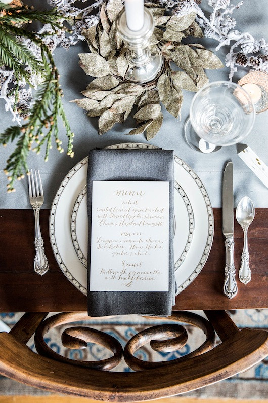 Holiday Tabletop | Sacramento Street