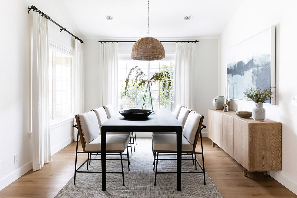 South Bay Project: Entry + Dining Room Reveal