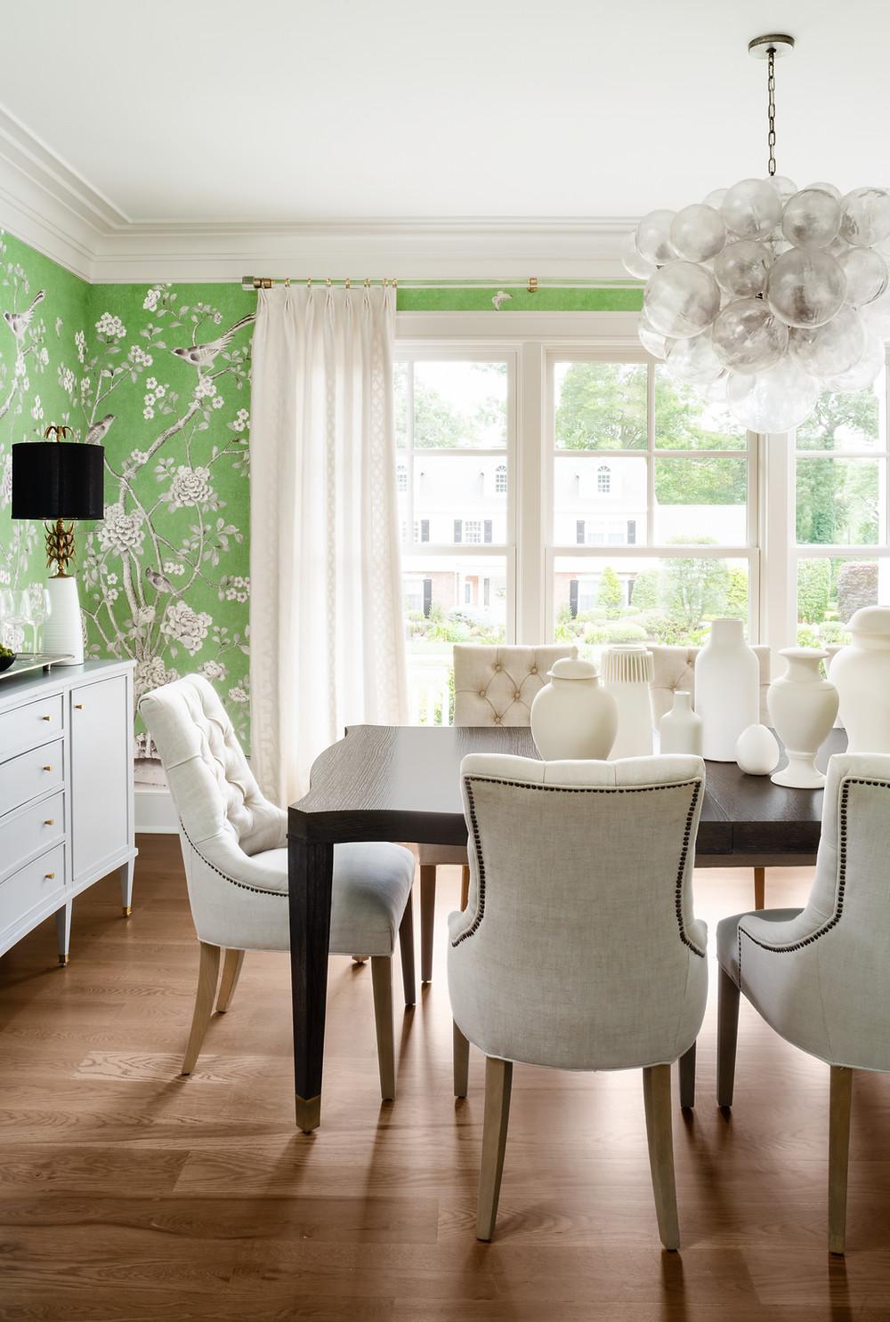 dining room by Britt Design Studio