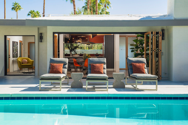 Modern, mid-century design by Christopher Kennedy - Palm Springs Interior Design Studio