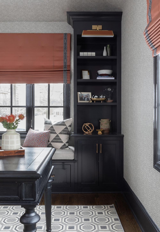 office nook by Britt Design Studio