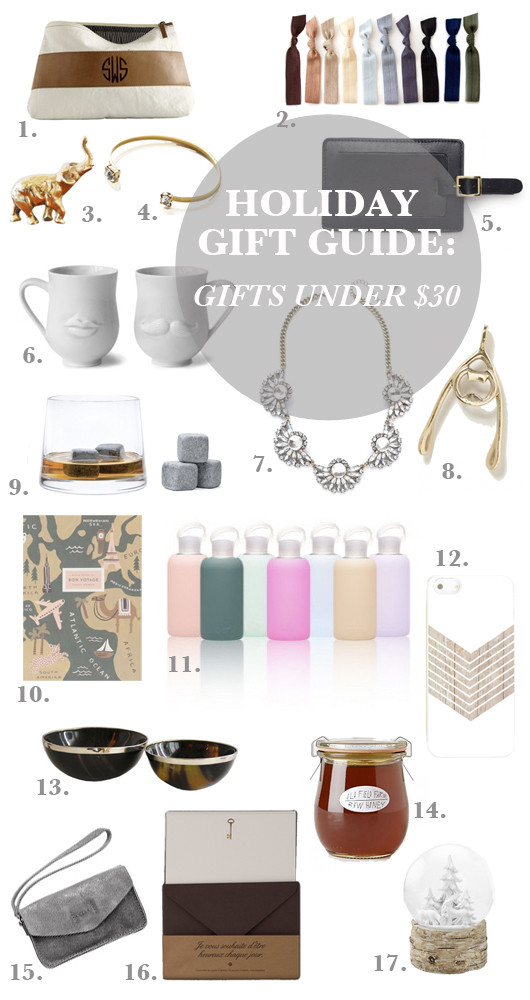 Gift Guide: Gifts Under $30 | Sacramento Street
