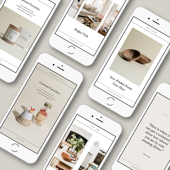 Oak & Sage Instagram Stories Template