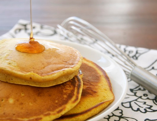 On the Menu: Pumpkin Pancakes